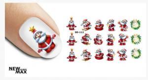 Слайдер-дизайн для ногтей New Max SD-112