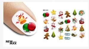 Слайдер-дизайн для ногтей New Max SD-113