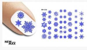 Слайдер-дизайн для ногтей New Max SD-131