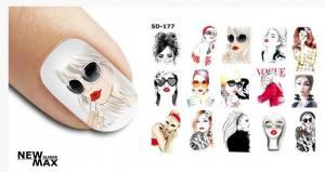 Слайдер-дизайн для ногтей New Max SD-177