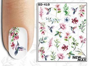 Слайдер-дизайн для ногтей New Max SD-410