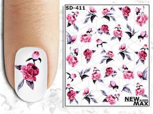Слайдер-дизайн для ногтей New Max SD-411