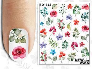 Слайдер-дизайн для ногтей New Max SD-413