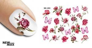 Слайдер-дизайн для ногтей New Max SD-193