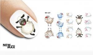Слайдер-дизайн для ногтей New Max SD-137