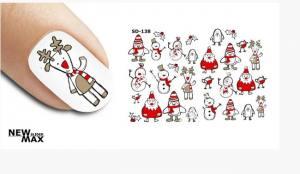 Слайдер-дизайн для ногтей New Max SD-138