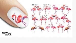 Слайдер-дизайн для ногтей New Max SD-213