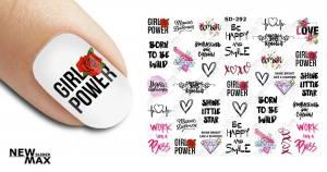 Слайдер-дизайн для ногтей New Max SD-292