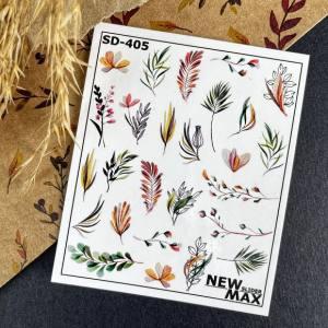 Слайдер-дизайн для ногтей New Max SD-405