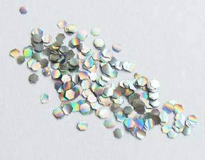 Чешуя 29 Лепесток серебро