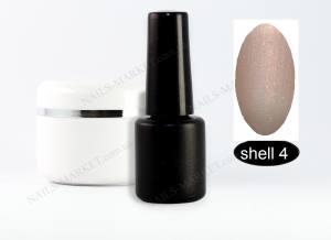 Гель-лак на розлив  5г shell №4 жемчужный