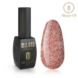 Гель лак Milano Shine 8 мл № 03