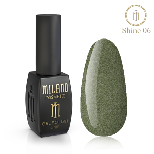 Гель лак Milano Shine 8 мл № 06