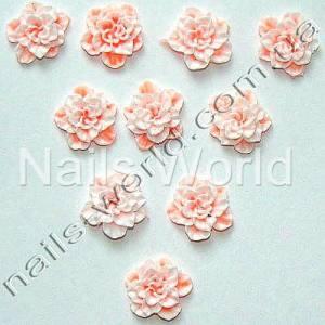 Силиконовые цветы для дизайна ногтей №022