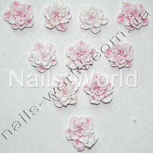 Силиконовые цветы для дизайна ногтей №024