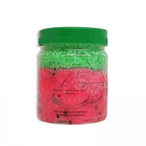Скраб для тела Serica сахарно-солевой Арбуз, 330 грамм
