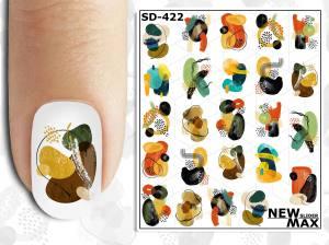 Слайдер-дизайн для ногтей New Max SD-422