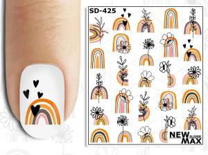 Слайдер-дизайн для ногтей New Max SD-425