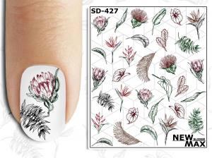 Слайдер-дизайн для ногтей New Max SD-427