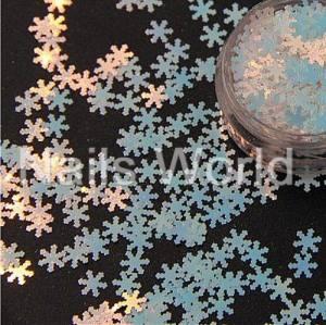 Снежинки Nails Worl №004