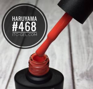Гель-лак Haruyama Классика №468, красно-коралловый, 8 мл