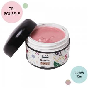 Гель суфле Kira Nails Gel Souffle, Cover, 30 г