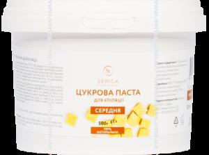 Сахарная паста для шугаринга Serica Средняя 100% натуральная 500г