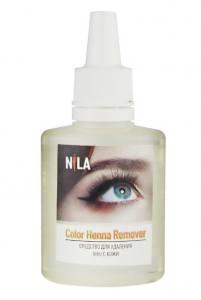 Средство для удаления хны с кожи Nila Color Henna Remover, 30 мл