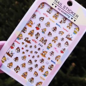 Наклейка для дизайна ногтей Nail Sticker 044
