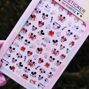 Наклейка для дизайна ногтей Nail Sticker 045