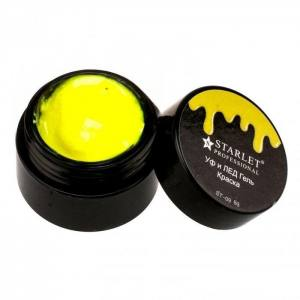 УФ и ЛЕД гель-краска Starlet Professional st-09 Желтая