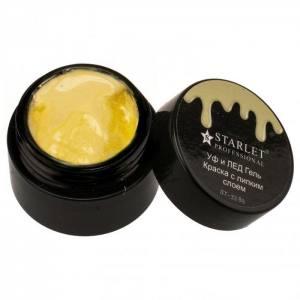 УФ и ЛЕД гель-краска Starlet Professional st-33 Желтая