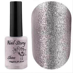 Лак для стемпинга Nail Story, Shine Collection, №010, 11 мл