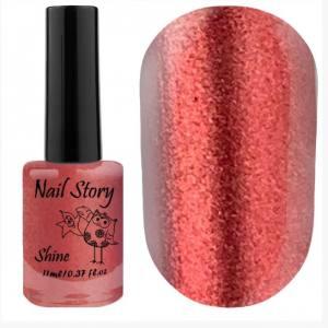 Лак для стемпинга Nail Story, Shine Collection, №017, 11 мл