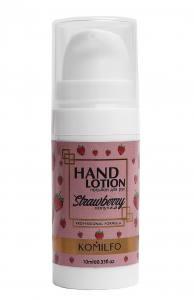 Komilfo Hand Lotion Strawberry  лосьон для рук клубника, 10 мл