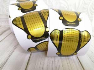 Форма для наращивания ногтей золотая муха