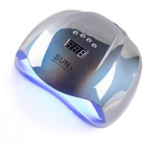 УФ LED лампа светодиодная Sun X 54 Вт Зеркальная