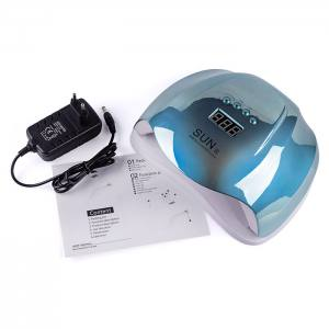 УФ LED лампа светодиодная Sun X 54 Вт Зеркальная Голубая
