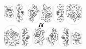 Слайдер-трафарет Sweet Bloom N018