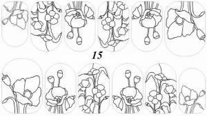 Слайдер-трафарет Sweet Bloom N015