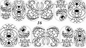 Слайдер-трафарет Sweet Bloom N016