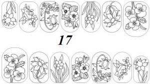 Слайдер-трафарет Sweet Bloom N017