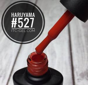 Гель-лак Haruyama Классика №527, красное дерево, 8 мл