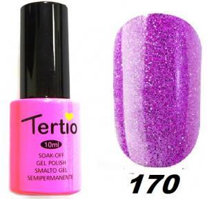 Гель-лак Tertio Фиолетово-сиреневый с блеском №170 10 мл