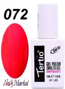 Гель-лак Tertio Classico 18мл №72 красно-розовый