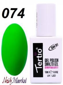Гель-лак Tertio Classico 18мл №74 зеленый насыщенный