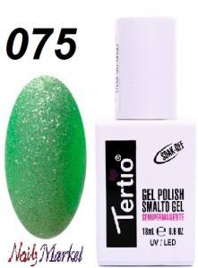 Гель-лак Tertio Classico 18мл №75 светло-зеленый перламутр
