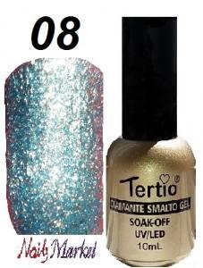 Гель-лак Tertio Diamante 10мл №08