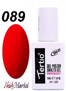 Гель-лак Tertio Classico 18мл №89 насыщенный малиновый