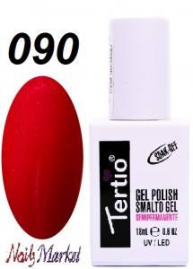 Гель-лак Tertio Classico 18мл №90 малиновый перламутр